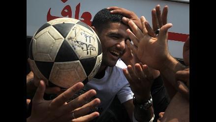 Futbolista palestino fue liberado por Israel tras mediación de la FIFA