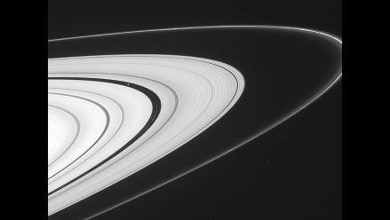 Los impresionantes anillos de Saturno capturados por la NASA