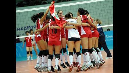 Selección peruana de voleibol se prepara para la Copa Panamericana