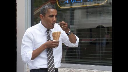 El gusto de Obama por los helados