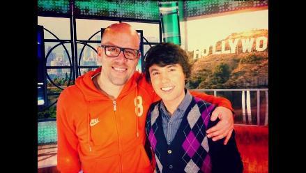 Gian Marco y Bruno Pinasco se reencuentran en divertida entrevista