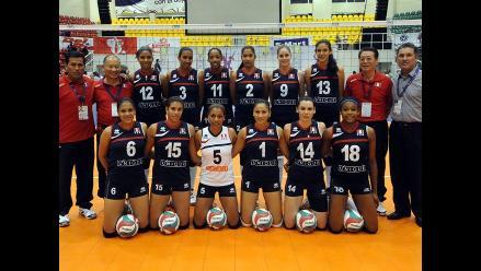 Selección peruana de voleibol venció a Argentina en Copa Panamericana