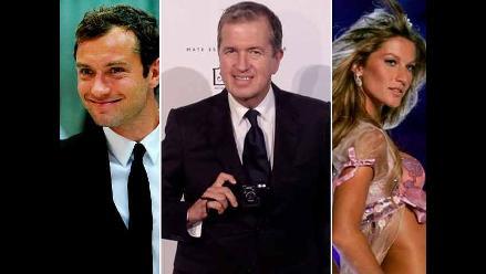 Kristen Stewart, Kate Moss y otras celebridades saludan a Mario Testino