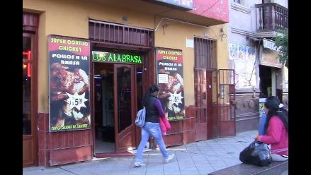 Huancayo: Encuentran cucarachas y hongos en pollerías