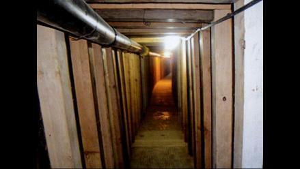 Golpe al narcotráfico tras desbaratar túneles en frontera con EEUU