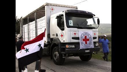Cruz Roja: Conflicto en Siria puede considerarse como guerra civil