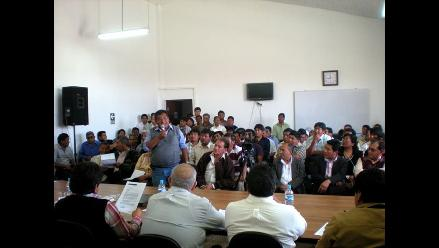 Tacna: Reinstalarán mesa de diálogo para solucionar conflicto minero