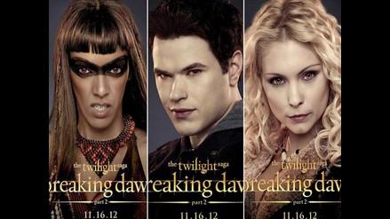 Lanzan los posters de los vampiros de Crepúsculo, ´Amanecer Parte 2´