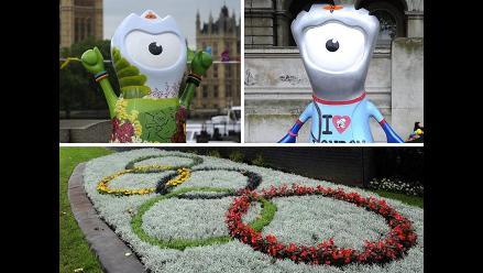 Wenlock y Mandeville, las mascotas de los Juegos Olímpicos Londres 2012