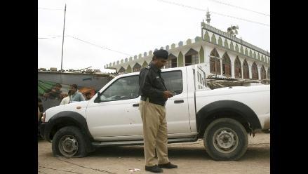 Doce muertos en atentado contra un autobús en Pakistán