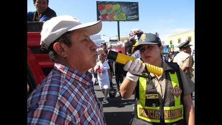 Arequipa: Dictan dos años de cárcel para conductor reincidente ebrio