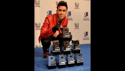 Prince Royce otra vez gran vencedor de los Premios Juventud