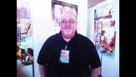 Guionista de ´El increíble Hulk´ llegó a Lima para la FIL 2012