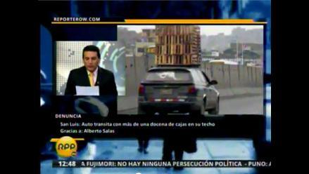 RPP TV: Envía tus denuncias a Reportero W.com 20/07/2012