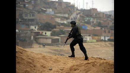 Policía Nacional retoma control de terrenos en Ventanilla
