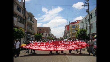 Lambayecanos protestarán en Lima contra proyecto Conga