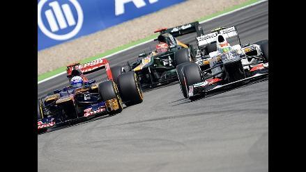Las mejores imágenes de las clasificatorias del Gran Premio de Alemania