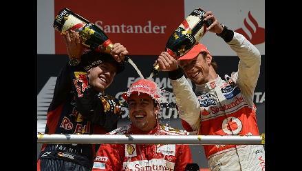 Fernando Alonso triunfa en el Gran Premio de Alemania de Fórmula Uno