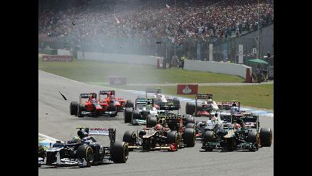 Las mejores imágenes del Gran Premio de Alemania de Fómula Uno
