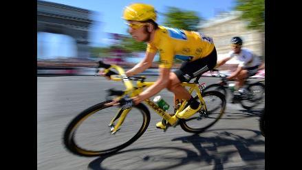 Bradley Wiggins se corona campeón del Tour de Francia 2012