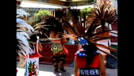 Mexicanos reviven danzas nativas con encuentro de bailarines en EEUU