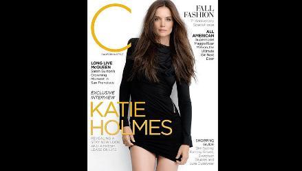 Katie Holmes se reinventa tras separación con Tom Cruise