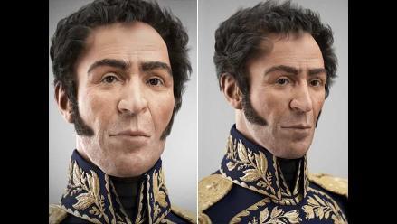 Presentan reconstrucción digital del rostro de Simón Bolívar