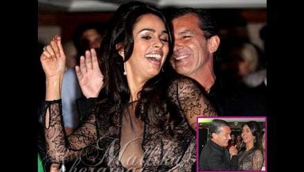 Actriz india evita hablar sobre candente baile con Antonio Banderas