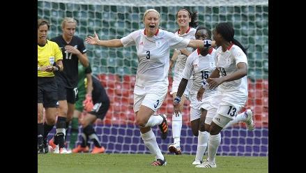 Fútbol femenino: Gran Bretaña venció a Nueva Zelanda en Londres 2012