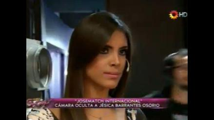 Modelo peruana víctima de bromas de programa argentino
