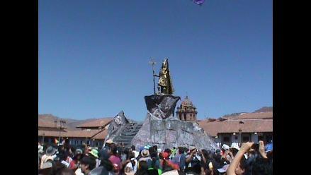 Cusco: Exigen retirar monumento del inca de la Plaza de Armas