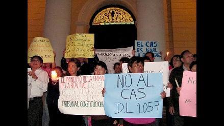 Lambayeque: Trabajadores CAS esperan mensaje alentador de Humala