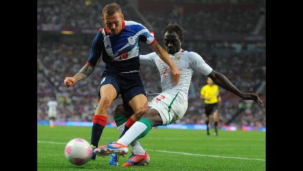 Reino Unido igualó 1-1 con Senegal por grupo A de los Juegos Olímpicos