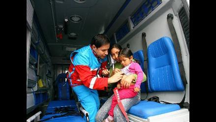 SAMU listo para atender emergencias durante fin de semana largo