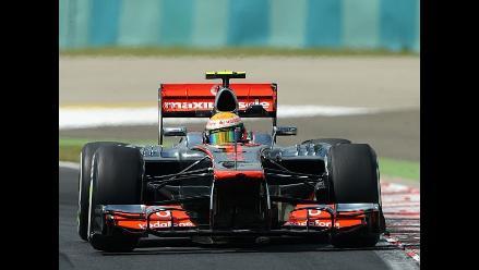Lewis Hamilton vence en segundo entrenamiento libre del GP de Hungría