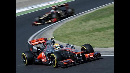 Imágenes de lo mejor de la clasificación del Gran Premio de Hungría