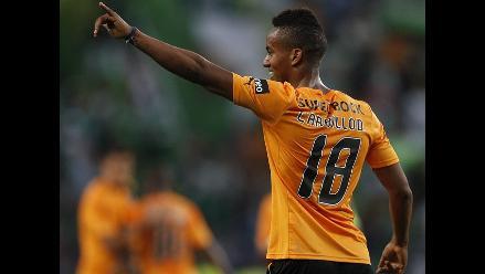 Sporting Lisboa ganó 3-1 al Saint Etienne con goles de André Carrillo
