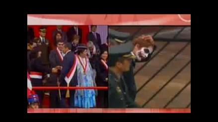 Policía detiene al Guasón en Parada Militar