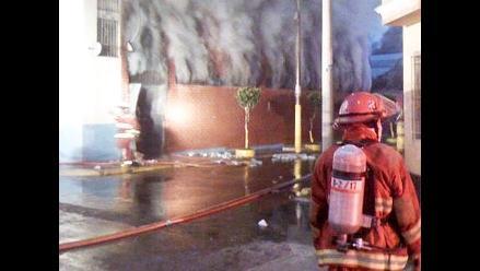 Incendio en departamento causa un muerto en Cercado de Lima