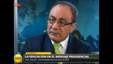 Vexler: Con muerte de la CPM buscan complacer al Sutep