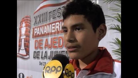 Primo de los hermanos Cori destacó en el Panamericano de Ajedrez