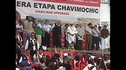 Ollanta Humala declara la viabilidad de la III etapa de Chavimochic