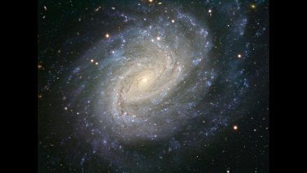 Captan imagen de un remolino azul en la constelación El Río