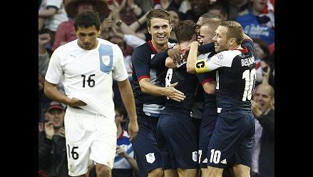 Uruguay se despidió de los Juegos Londres tras caer ante Gran Bretaña