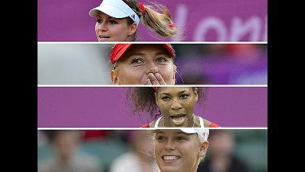 Sepa los duelos de cuartos de final en tenis femenino de Londres 2012