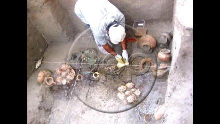 Restauran 20 piezas de jerarca de la Cultura Lambayeque