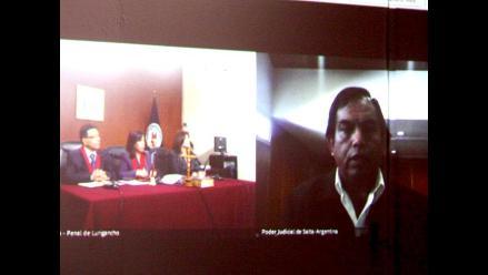 Sala Penal interrogó a policías argentinos testigos en caso Fefer