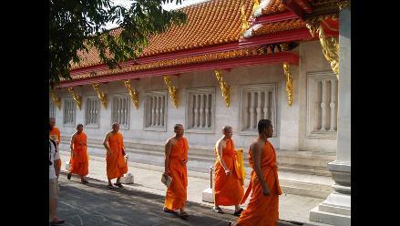 Más de la mitad de los monjes de Tailandia son obesos