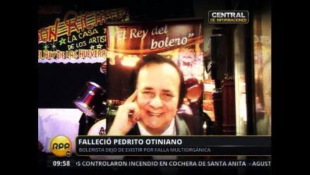 Pedrito Otiniano, el hombre que hacía reír y llorar