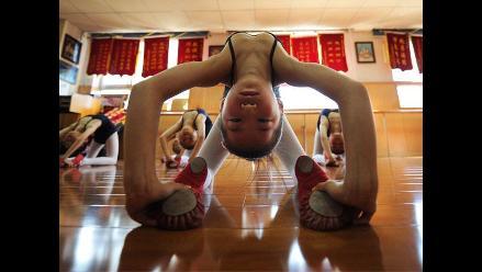 Niñas chinas también disfrutan del ballet clásico